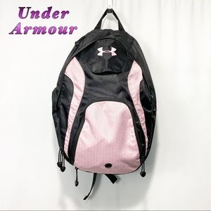 Under Armour-Black & Pink All Sports & Ball Bag
